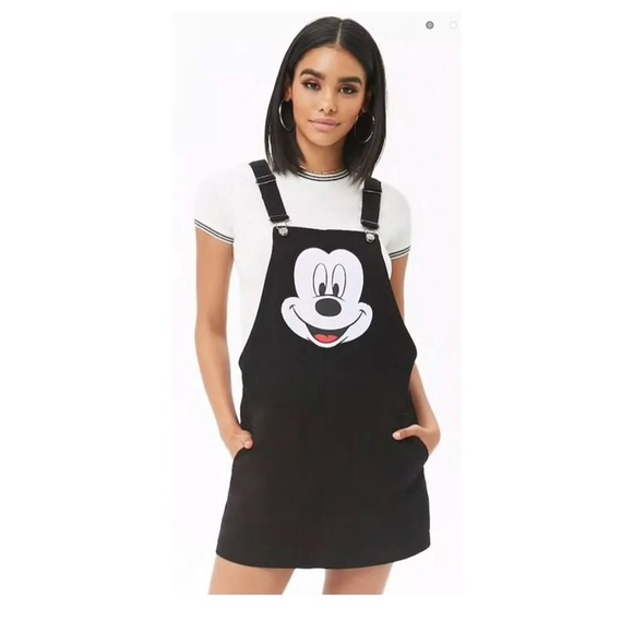 Disney Dresses Mickey Mouse Dress Overalls Size Large Poshmark